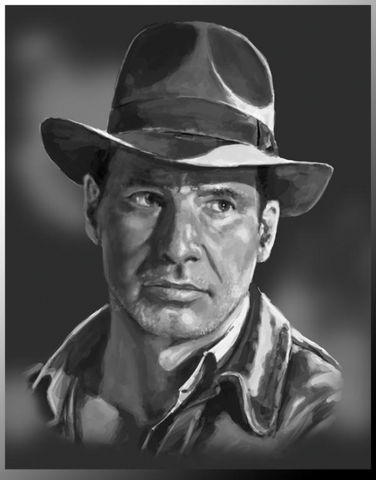 Harrison Ford by MaG_NeO